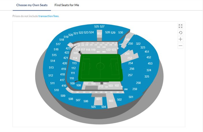 Does A Detailed Seating Plan Exist Spurscommunity