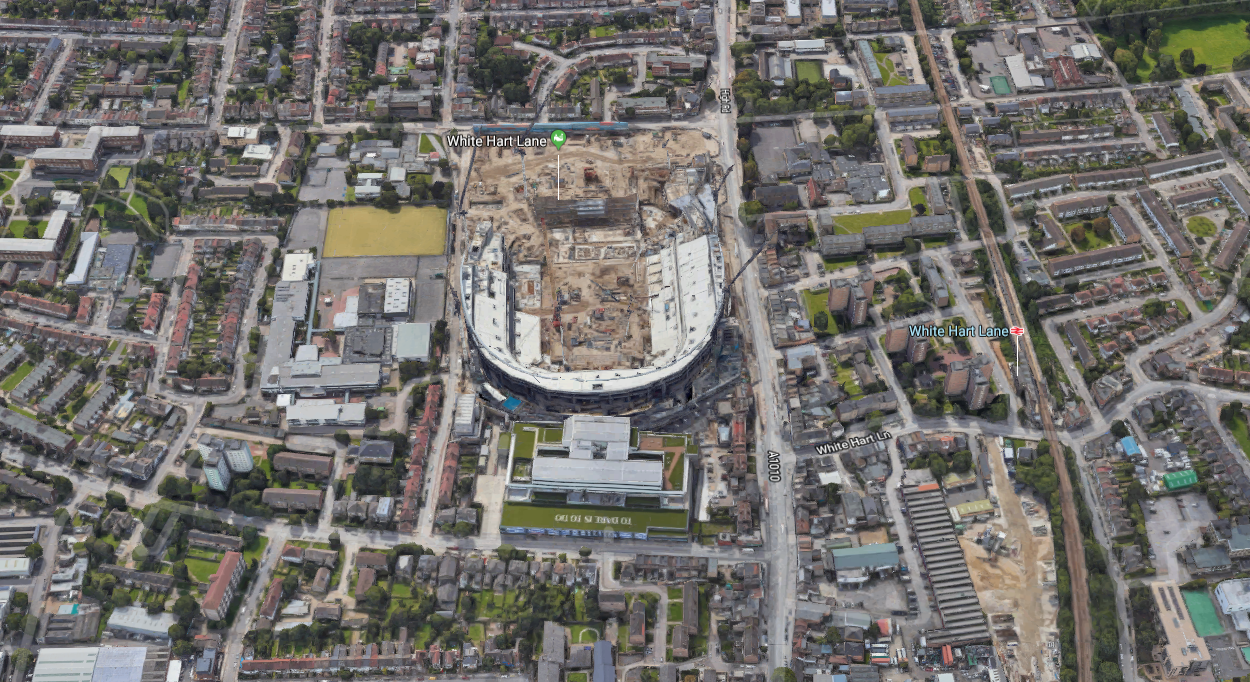 Google Maps Tottenham Finally In 3d Spurscommunity
